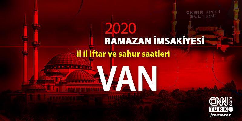 Van imsakiyesi 2020… 25 Nisan Van iftar vakti ne zaman, akşam ezanı saat kaçta?