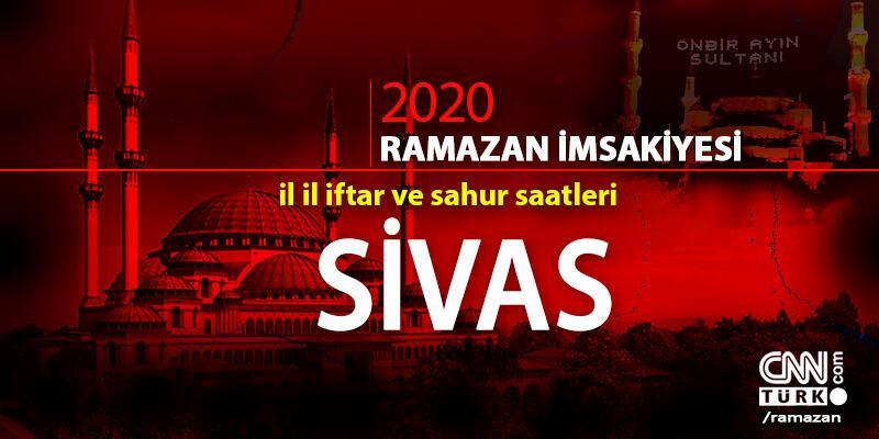 Sivas imsakiyesi 2020… 25 Nisan Sivas iftar vakti ne zaman, akşam ezanı saat kaçta?