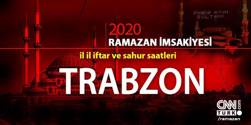 Trabzon imsakiyesi 2020… 25 Nisan Trabzon iftar vakti ne zaman, akşam ezanı saat kaçta?