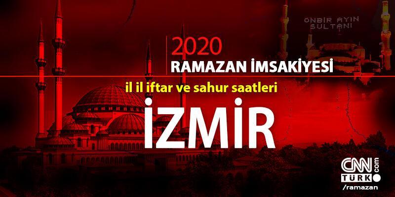 İzmir imsakiyesi 2020… Diyanet, İzmir iftar vakti ne zaman, akşam ezanı saat kaçta?