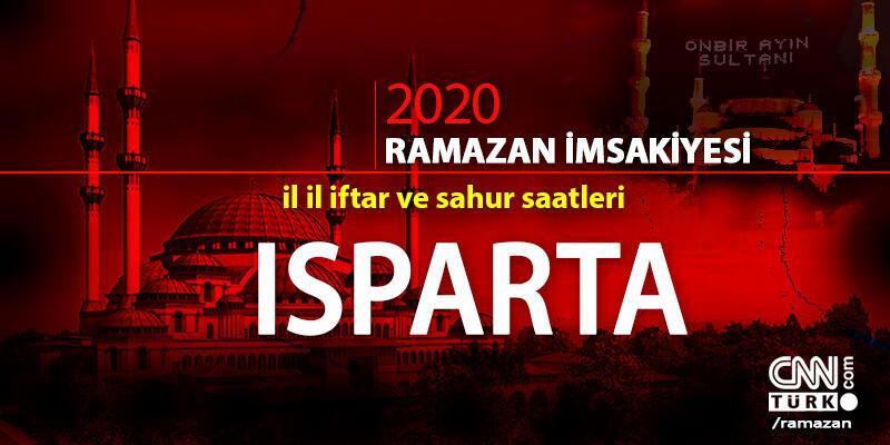 Isparta imsakiyesi 2020… Diyanet, Isparta iftar vakti ne zaman, akşam ezanı saat kaçta?