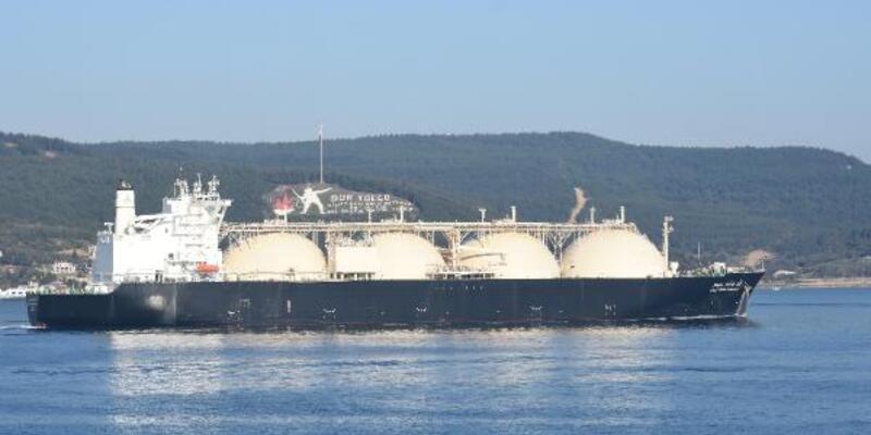 Çanakkale Boğazı, doğal gaz tankerinin geçişi sırasında tek yönlü kapatıldı