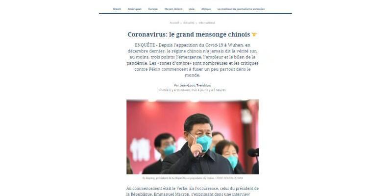 Le Figaro: Çin dünyaya yalan söyledi