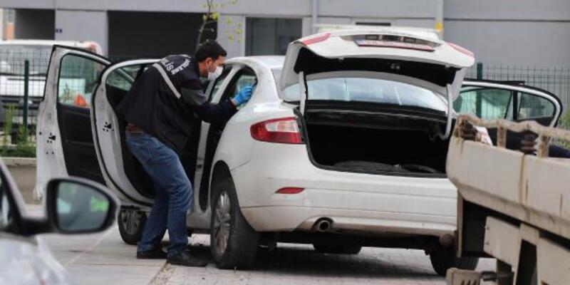 Çalıntı plakalı otomobilin sürücü yakalandı