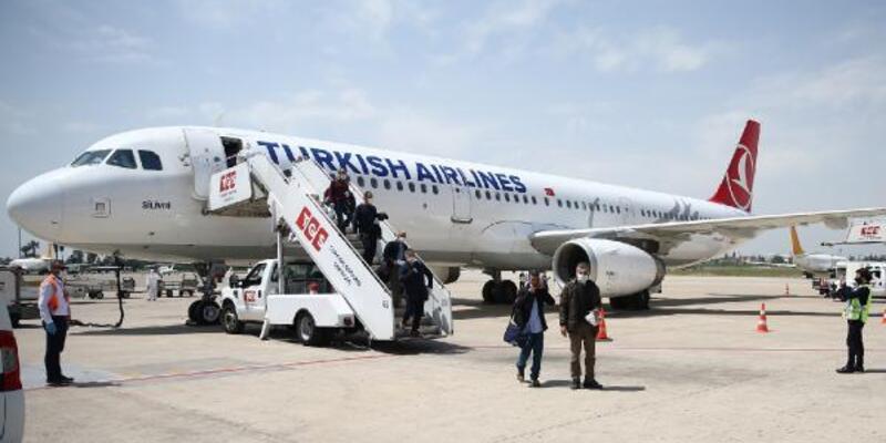 Rusya ve Almanya'dan getirilen 363 Türk vatandaşı karantinada