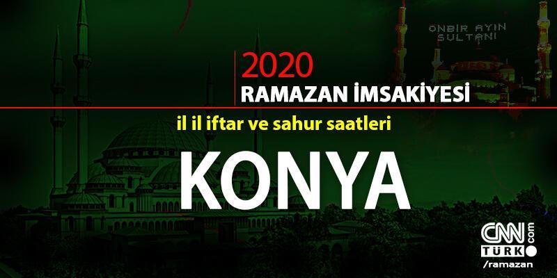 İftar saati | Konya 2020 Ramazan imsakiyesi, Konya iftar ve imsak vakitleri