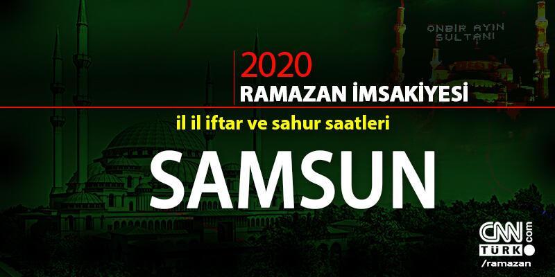 İftar saati | Samsun 2020 Ramazan imsakiyesi Samsun iftar ve imsak vakitleri