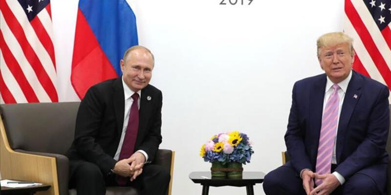 Trump ve Putin'den ortak açıklama