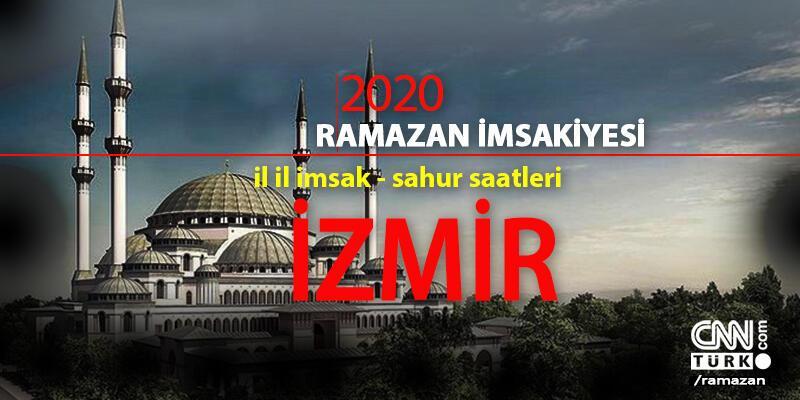26 Nisan İzmir iftar vakti 2020 imsakiye: İzmir iftar saati kaç?