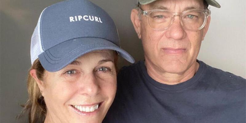Amerikalı aktör Tom Hanks ve eşi plazma bağışında bulunacak