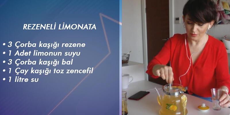 Rezeneli limonata tarifi
