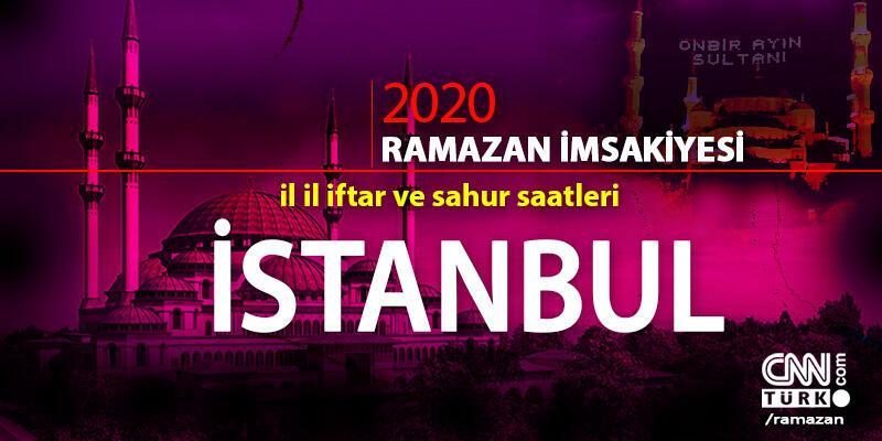 İstanbul imsakiyesi 2020: İstanbul iftar saati… 27 Nisan iftar vakti saat kaçta?