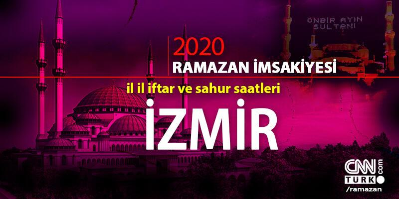 İzmir imsakiyesi 2020: İzmir iftar saati… 27 Nisan iftar vakti saat kaçta?