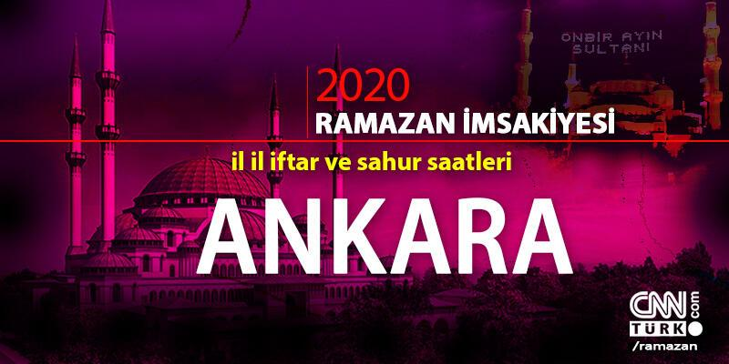 Ankara imsakiyesi 2020: Ankara iftar saati… 27 Nisan iftar vakti saat kaçta?