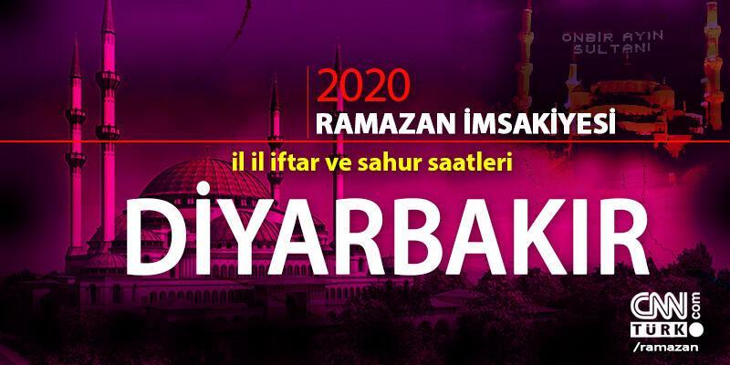 Diyarbakır imsakiyesi 2020: Diyarbakır iftar saati… 27 Nisan iftar vakti saat kaçta?