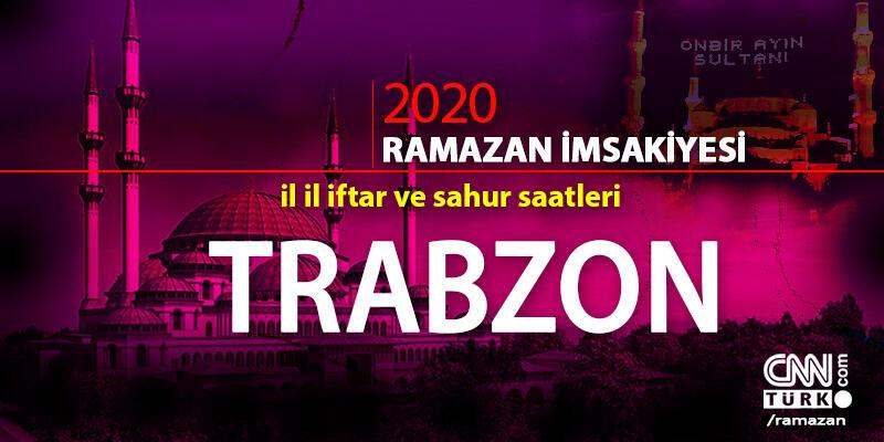 Trabzon imsakiyesi 2020: Trabzon iftar saati… 27 Nisan iftar vakti saat kaçta?