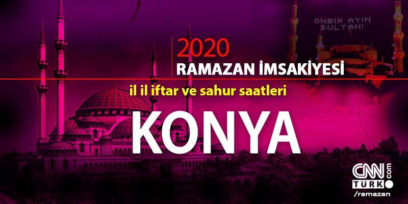 Konya imsakiyesi 2020: Konya iftar saati… 27 Nisan iftar vakti saat kaçta?