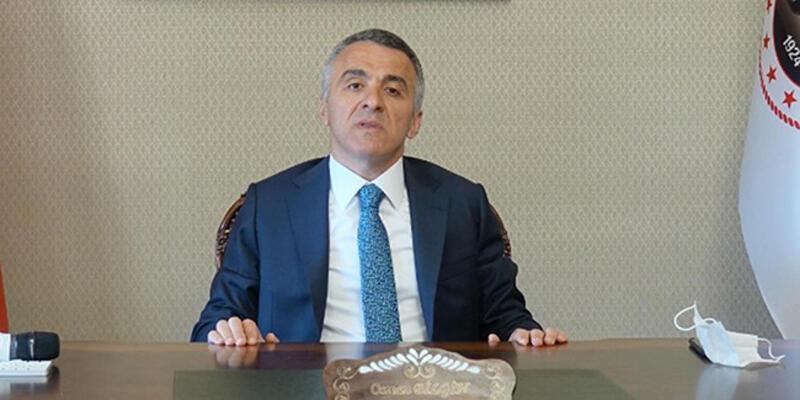 Koronavirüsü yenen Kırklareli Valisi Bilgin, göreve başladı