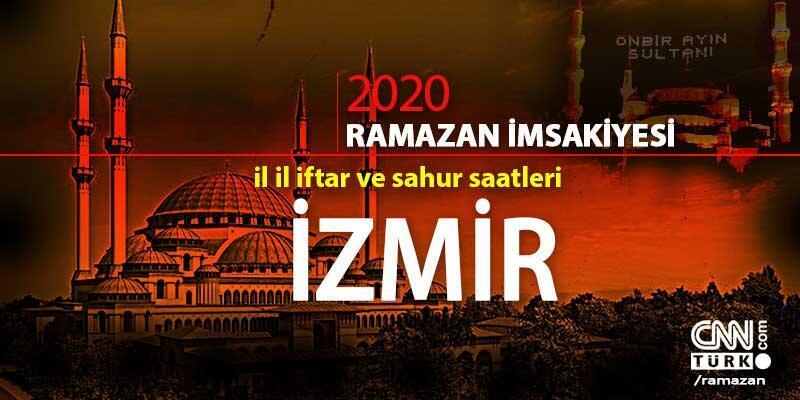 İzmir imsakiyesi 2020: İzmir iftar vakti saati ne zaman?