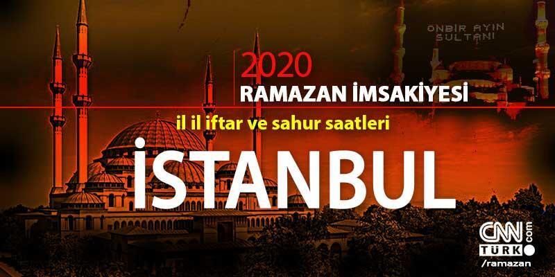 İstanbul imsakiyesi 2020: İstanbul iftar vakti saati ne zaman?