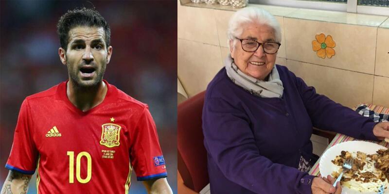 Fabregas'ın 95 yaşındaki büyükannesi koronavirüsü yendi
