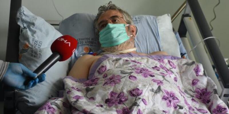 İmmüm plazma tedavisini ilk gören hasta konuştu