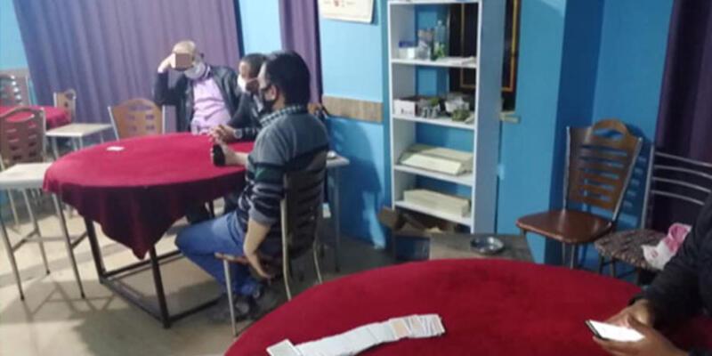 Kahvehanede yakalanan 3 kişiye ceza