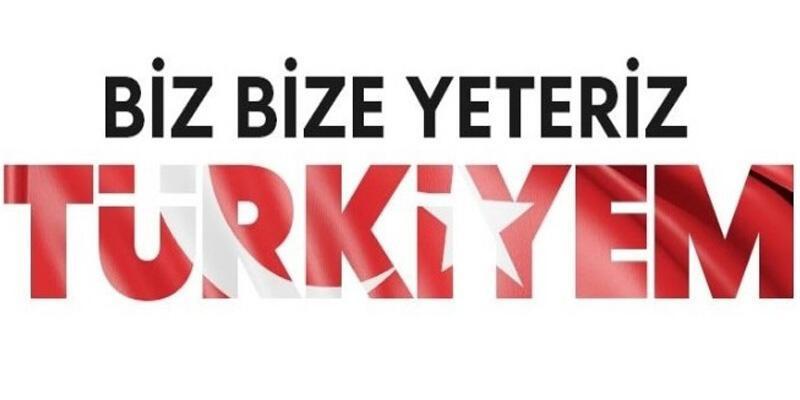 """Vergi müfettişlerinden """"Biz Bize Yeteriz Türkiyem"""" kampanyasına destek"""