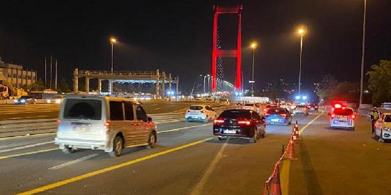Kısıtlamanın sona ermesiyle İstanbul trafiği hareketlendi