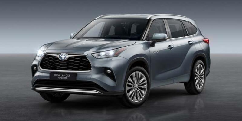 Toyota'nın en büyük Hibrit SUV'u Avrupa'da