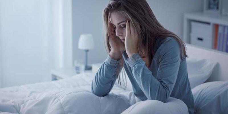 Stres uyku problemlerini tetikliyor