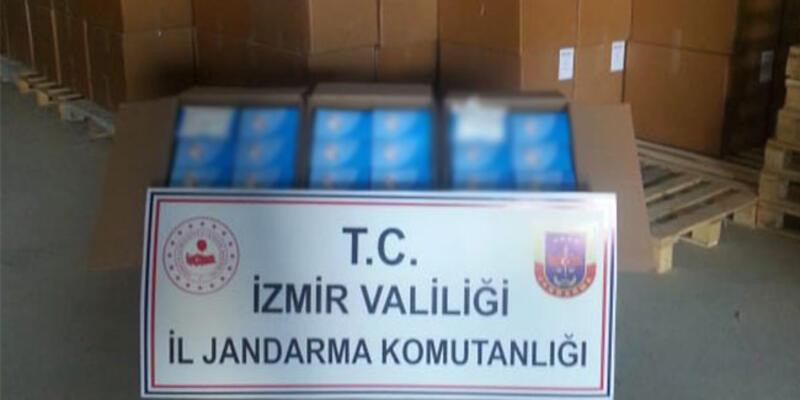 Jandarma'dan büyük operasyon: Milyonlarca cerrahi maske ele geçirildi