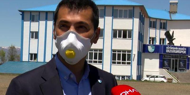 Erzurumspor Başkanı Üneş: 83 kişiye test yapıldı