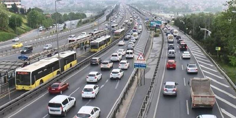 İstanbul'da trafik yoğunluğu yüzde 42'lere ulaştı