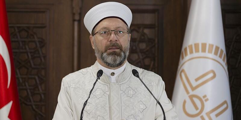 Diyanet İşleri Başkanı Erbaş camilerin ibadete açılacağı tarihi açıkladı