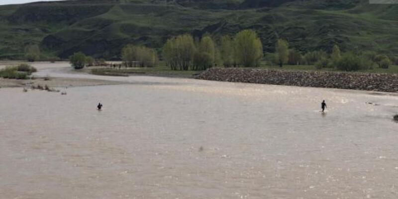 Aras Nehri'nde kaybolan şahsı arama çalışmalarına başlandı