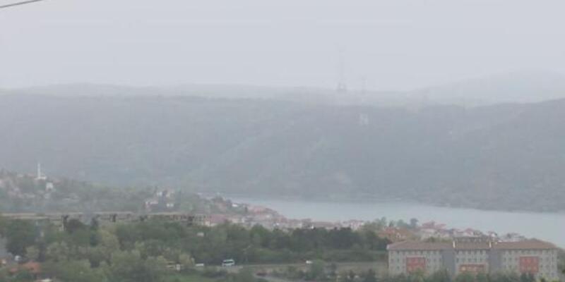 Çöl tozları ve trafik İstanbul'daki hava kalitesini etkiledi