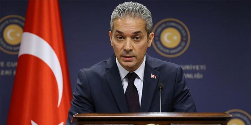 Sözcü Aksoy'dan, AB Dışişleri Bakanları'na 'Doğu Akdeniz' tepkisi