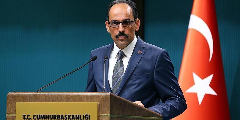 Cumhurbaşkanlığı Sözcüsü Kalın'dan 'Nekbe' açıklaması