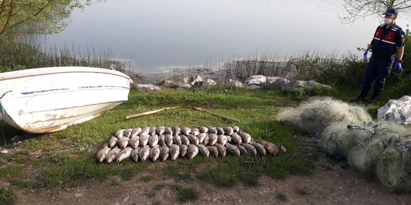 Kaçak balık avlayanlara ceza!