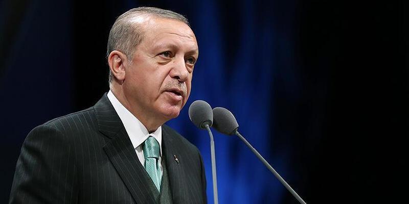 """Cumhurbaşkanı Erdoğan'dan """"1915 Çanakkale Köprüsü"""" paylaşımı"""