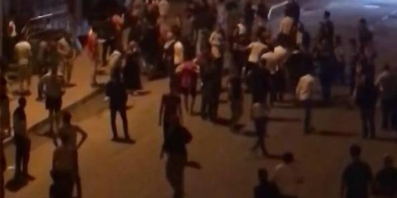 Arnavutköy'de taciz iddiası sonrası kavga çıktı