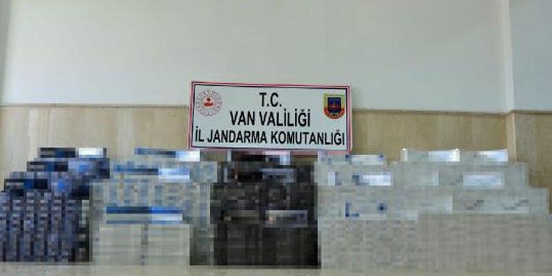 İran sınırında kaçak sigara operasyonu