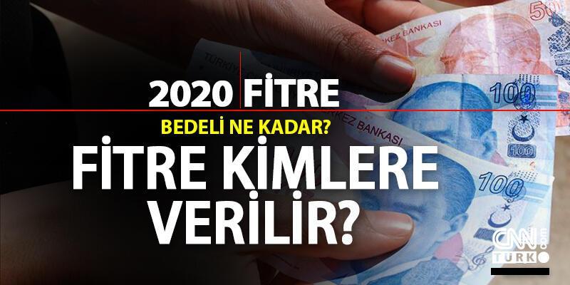 Bu sene fitre ne kadar? 2020 fitre miktarı nedir, fidye kimlere verilir?