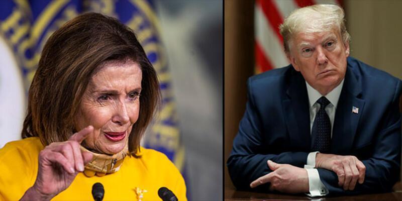 """Trump ve Pelosi arasında """"şişko"""" polemiği"""