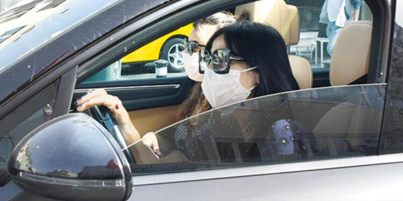 Zehra Çilingiroğlu bu kez maskeli