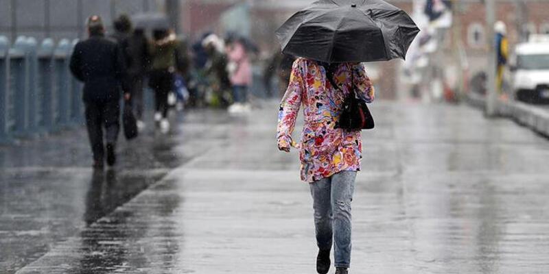 Meteoroloji'den son dakika açıklaması: O illerimize kuvvetli yağış uyarısı