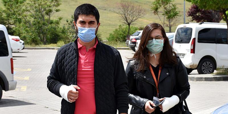 Kırıkkale'de 2 doktorun darbedildiği iddiası