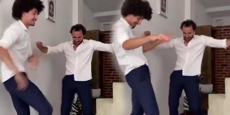 Fırat Çelik'ten yeğeniyle bayram dansı