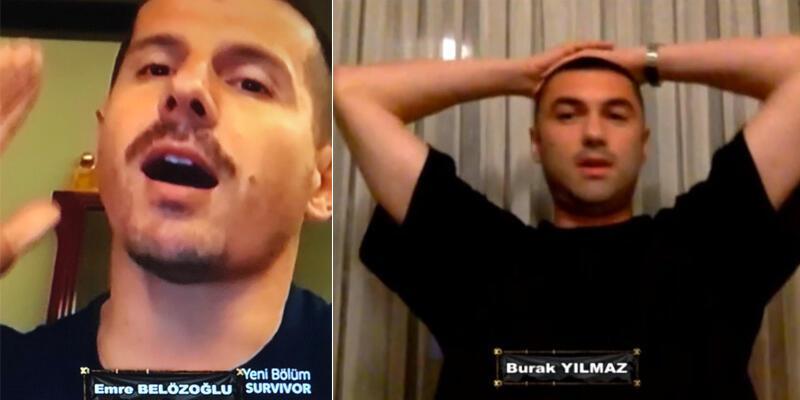 Burak Yılmaz ve Emre Belözoğlu Survivor'a damga vurdu